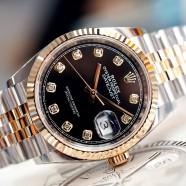 NEW!! Rolex Datejust Jubilee 2K Black Dial Diamond 36 mm REF.126233 (New THAI AD 06/2020)