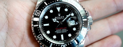 NEW!! Rolex Red Sea-Dweller 50th Aniversary 43 mm Mark II Ref.126600 (New Full Sticker 11/2018)