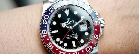 NEW!! Rolex GMT-Master II Pepsi Jubilee 40 mm Ref.126710BLRO (New!! 05/2020)