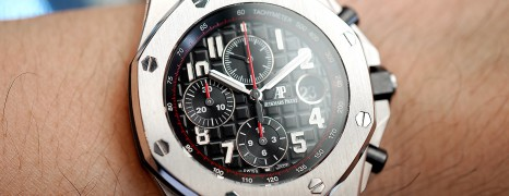 AP Audemars Piguet Royal Oak Offshore Chronograph Black Dial(Vampire) 42 mm (09/2014)