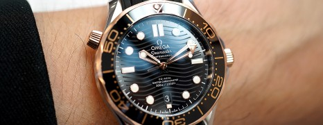 Omega Seamaster Diver 300M Sedna™ Gold 18K Master Co-Axial Black Dial 42 mm (Thai AD 02/2020)