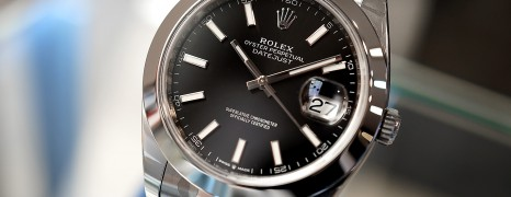 NEW!! Rolex Datejust 41 Black Dial 41 mm Ref.126300 (New Thai AD 05/2020)