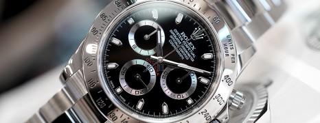 Rolex Cosmograph Daytona SS Black Dial 40 mm REF.116520 (Thai AD 05/2012)