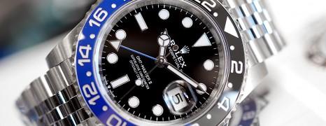 NEW!! Rolex GMT-Master II Black Blue Ceramic Jubilee 40 mm Ref.126710BLNR (Batman)(Thai AD 07/2020)