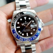 Rolex GMT-Master II Black Dial Black Blue Ceramic REF.116710BLNR (Batman)(07/2017)