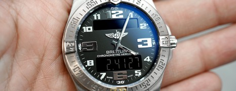 Breitling Aerospace Evo Digital Titanium Black Dial 43 mm Ref.E7936310 (Thai AD 02/2019)