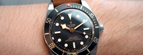 NEW!! Tudor Black Bay Fifty-Eight Leather Strap 39 mm (Thai AD 07/2020)