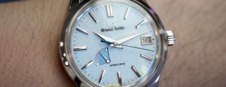 "Grand Seiko Elegance Collection Spring Drive ""Snowflake Blue"" Dial 40.2 mm Ref.SBGA407 (Thai AD 07/2020)"