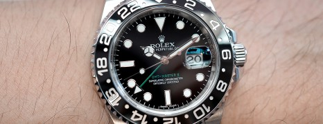 Rolex GMT-Master II Black Ceramic Green Hand 40 mm REF.116710LN (12/2016)