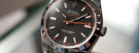 Rolex Milgauss Black Dial 40 MM Ref.116400 (01/2015)