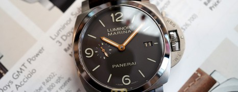 Panerai 351 Luminor 1950 Auto Titanium S.Q 44 mm (08/2014)