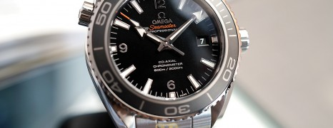 Omega Seamaster Planet Ocean Automatic Co-Axial 8500 Black Ceramic 45.5 mm (Thai AD 09/2014)