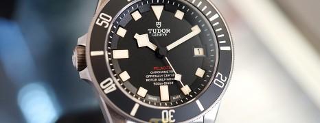 Tudor Pelagos LHD Titanium Black Dial 42 mm (10/2018)