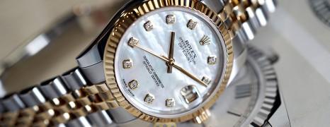 Rolex Datejust 2K White MOP Diamonds 31 mm REF.178273 (Thai AD 04/2017)