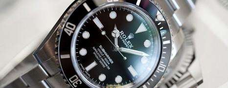 Rolex Submariner No Date Ceramic 40 mm Ref.114060 (02/2020)
