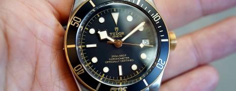 Tudor Heritage Black Bay Steel and Gold 41 mm (Thai AD 03/2018)