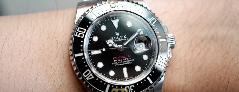 Rolex Red Sea-Dweller 50th Aniversary 43 mm Mark I Ref.126600 (08/2017)