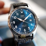 """NEW!! IWC Mark XVIII Edition """"LE PETIT PRINCE"""" Blue Dial 40 mm Ref.IW327010 (New Thai AD 08/2020)"""
