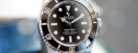Rolex Submariner No Date Ceramic 40 mm Ref.114060 (02/2020)