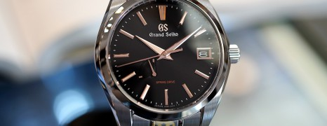 Grand Seiko Heritage Collection Spring Drive Black Dial (Boutique Limited Edition) 41 mm SBGA401 (Thai AD 08/2020)