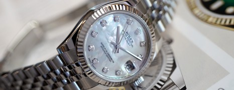 Rolex Datejust Jubilee White MOP Diamond 31 mm REF.178274 (Thai AD 02/2015)