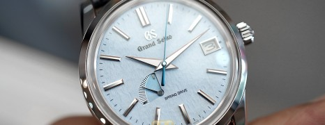 "Grand Seiko Elegance Collection Spring Drive ""Snowflake Blue"" Dial 40.2 mm Ref.SBGA407 (Thai AD 06/2020)"