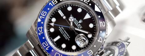 Rolex GMT-Master II Black Dial Black Blue Ceramic REF.116710BLNR (Batman)(11/2016)
