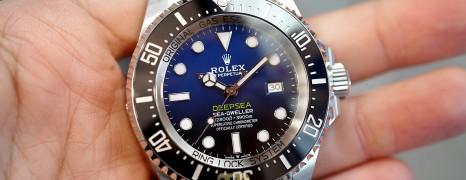 Rolex Sea-Dweller Deepsea D-Blue 44 mm Ref.126660 (Thai AD 08/2019)