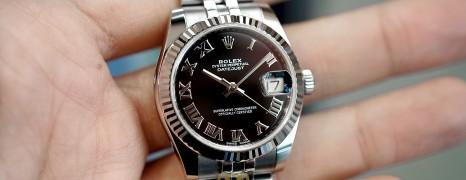 Rolex Datejust Jubilee Black Roman Dial 31 mm REF.178274 (Thai AD 03/2019)