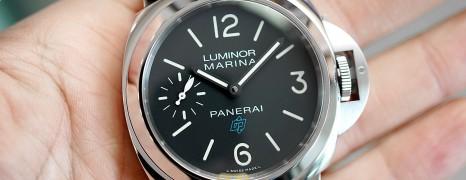 NEW!! Panerai 777 Luminor Marina Logo 3 Days Acciaio 44 mm S.V (New Thai AD 08/2020)