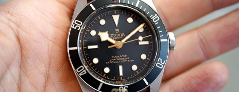 NEW!! Tudor Heritage Black Bay Black 41 mm (New Thai AD 09/2020)