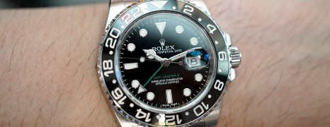 Rolex GMT-Master II Black Ceramic Green Hand 40 mm REF.116710LN (03/2017)
