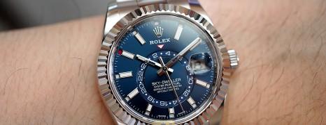 Rolex Sky-Dweller Blue Dial 42 mm Ref.326934 (08/2019)