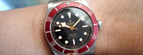 Tudor Heritage Black Bay Red 41 mm (11/2017)