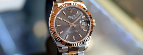 NEW!! Rolex Datejust Everose Rolesor Dark Rodium Dial 31 mm REF.178271 (New Thai AD 08/2020)