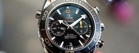 Omega Seamaster Planet Ocean 600M Chronograph Caliber 9300 45.5 mm (07/2016)