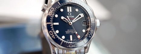 Omega Seamaster Diver 300 m Automatic Co-Axial Blue Ceramic Dial 36.25 mm (Thai AD 03/2016)
