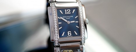 Patek Philippe Twenty~4 4910/1200A Blue Dial 25.1 x 30 mm (NEW 10/2020)