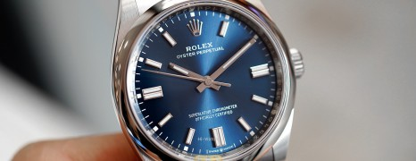 NEW!! Rolex Oyster Perpetual Blue Dial 36 mm REF.126000 (NEW 10/2020)
