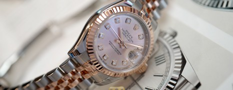 Rolex Datejust Lady 2K Pink Diamond Dial 26 mm Ref.179171 (04/2010)