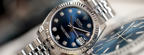 Rolex Datejust Jubilee Blue Dial Diamond 31 mm REF.178274 (Thai AD 01/2013)