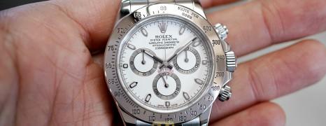 Rolex Cosmograph Daytona White Dial 40 mm REF.116520 (08/2011)