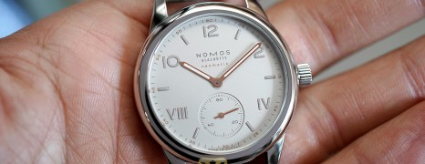 NOMOS Club Campus neomatik 37 mm REF.749 (Thai AD 12/2019)
