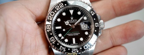 Rolex GMT-Master II Black Ceramic Green Hand 40 mm REF.116710LN (05/2015)