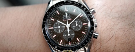 Omega Speedmaster Racing Chronometer Carbon Fiber Dial 42 mm (06/2008)
