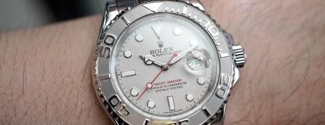 Rolex Yacht-Master Platinium Dial 40 mm Ref.16622 (Z Series 2007)