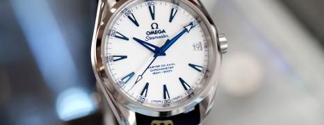 Omega Seamaster Aqua Terra 150M Master Co-Axial GoodPlanet 38.5 mm (03/2020)