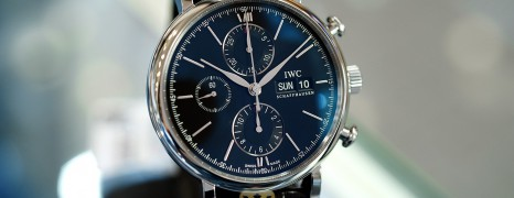NEW!! IWC Portofino Chronograph Black Dial 42 mm Ref.IW391029 (NEW Thai AD 11/2020)