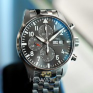 IWC Pilot's Watch Chronograph Spitfire Grey Dial 43 mm Ref.IW377719 (Thai AD 08/2020)