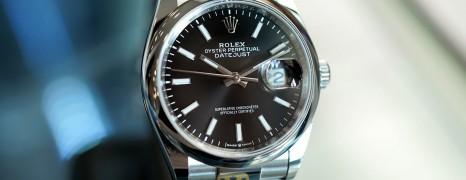NEW!! Rolex Datejust Black Dial King Size 36 mm Ref.126200 (NEW Thai AD 10/2020)